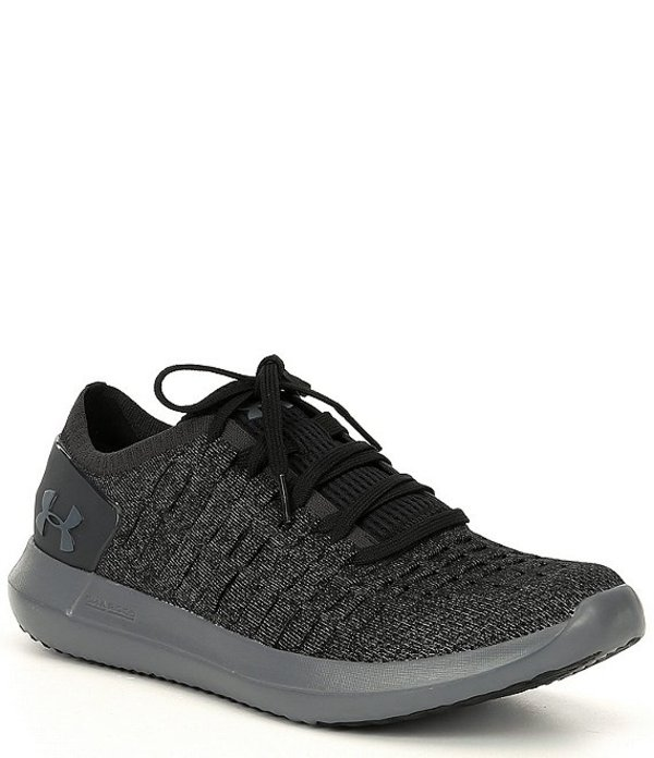 アンダーアーマー メンズ スニーカー シューズ Men's Slingride 2 Sneakers Black/Pitch Gray/Pitch Gray