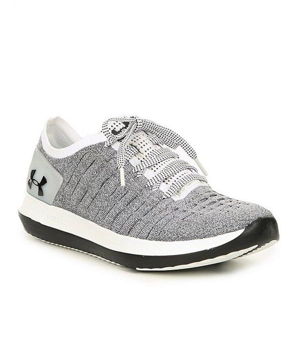 アンダーアーマー メンズ スニーカー シューズ Men's Slingride 2 Sneakers White/Black/Black