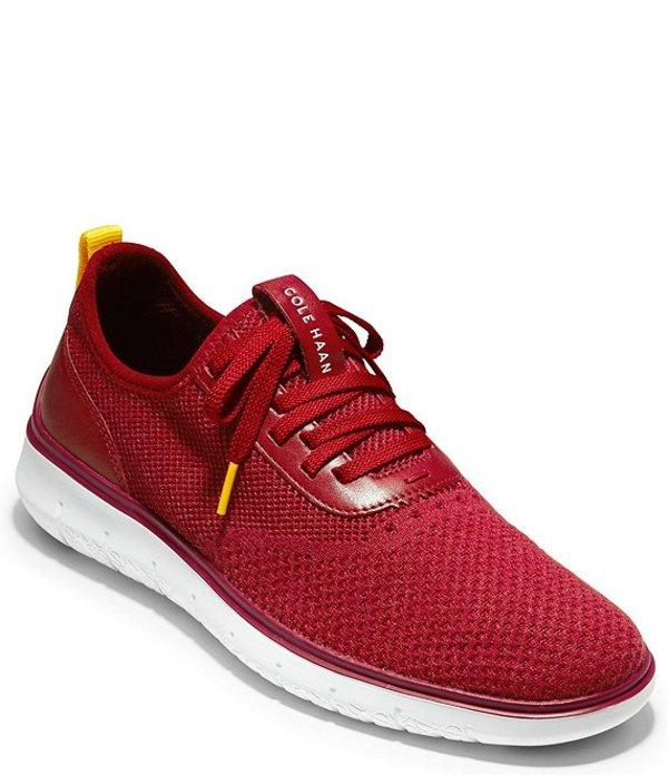 コールハーン メンズ スニーカー シューズ Men's Generation ZeroGrand Stitchlite Sneaker Red Dahlia