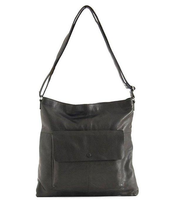 デイアンドムード レディース ショルダーバッグ バッグ Malou Snap Pocket Hobo Bag Black