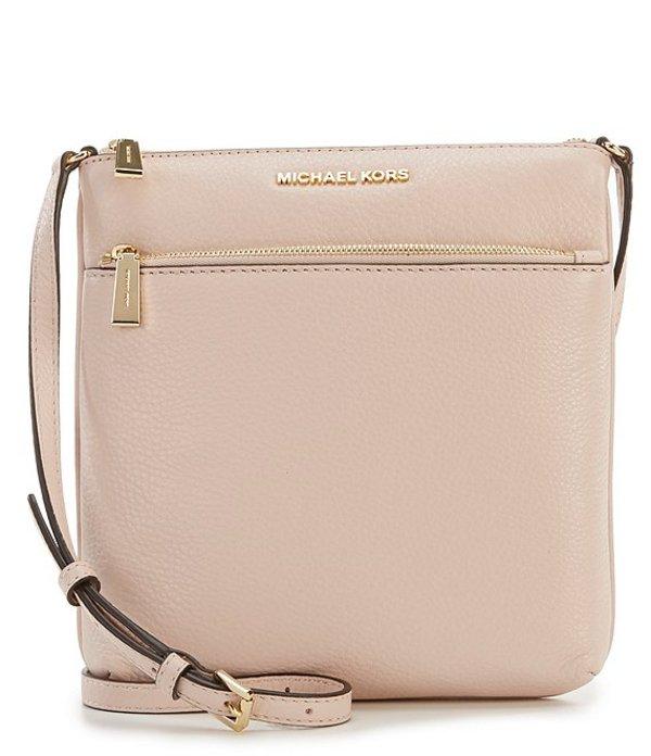 マイケルコース レディース ハンドバッグ バッグ Riley Small Flat Crossbody Bag Soft Pink