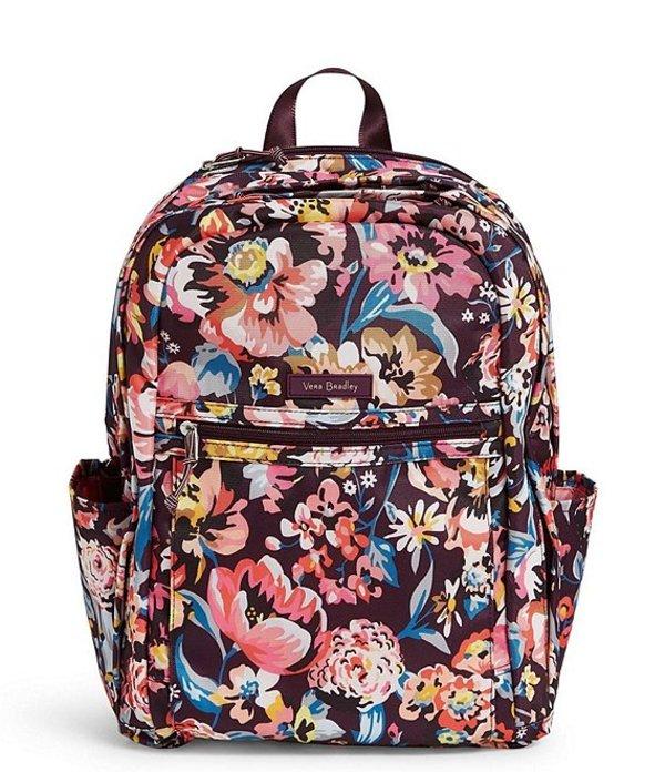 ベラブラッドリー レディース ハンドバッグ バッグ Lighten Up Grande Backpack Indiana Blossoms