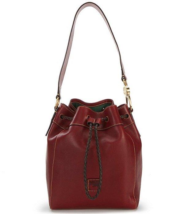 ドーネイアンドバーク レディース ショルダーバッグ バッグ Florentine Collection Hattie Drawstring Bag Bordeaux