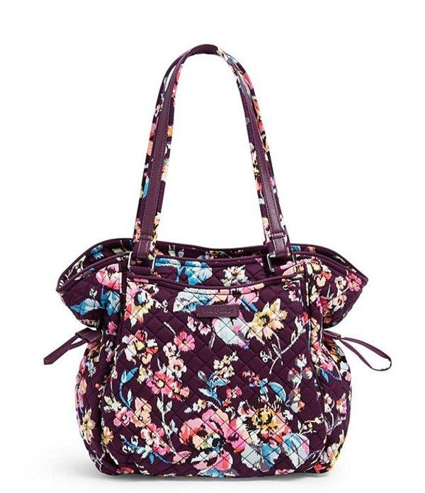 ベラブラッドリー レディース ハンドバッグ バッグ Iconic Glenna Printed Satchel Bag Indiana Rose