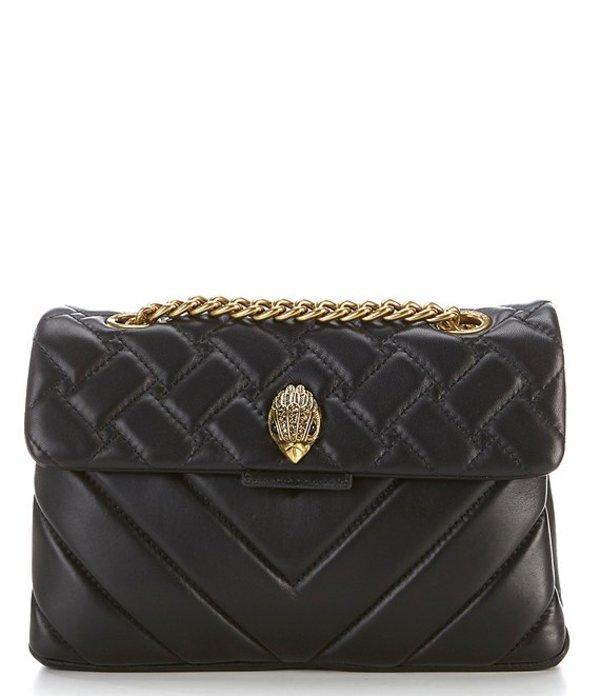 カートジェイガー レディース ショルダーバッグ バッグ Kensington Quilted Shoulder Bag Black