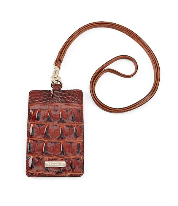 ブランミン レディース ハンドバッグ バッグ Brahmin Melbourne Collection Sawyer Lanyard Pecan