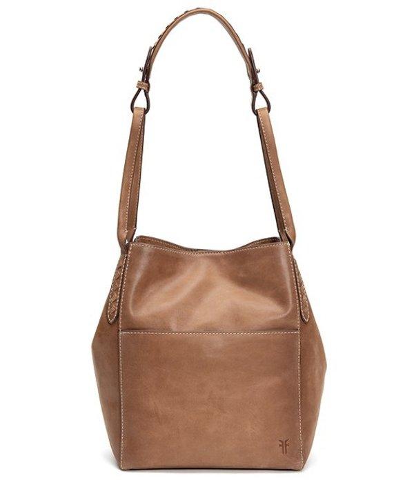 フライ レディース ショルダーバッグ バッグ Reed Magnetic Snap Hobo Bag Tan