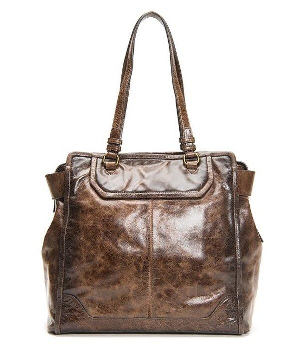 送料無料 サイズ交換無料 フライ レディース バッグ トートバッグ Dark Brown フライ レディース トートバッグ バッグ Mel Large Italian Leather Tote Bag Dark Brown