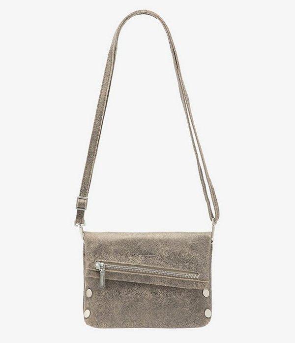 ハミット レディース ショルダーバッグ バッグ VIP Small Leather Crossbody Bag Pewter/BS
