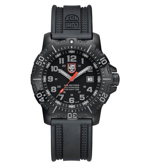 ルミノックス メンズ 腕時計 アクセサリー ANU 4200 Series 4221 Watch Black