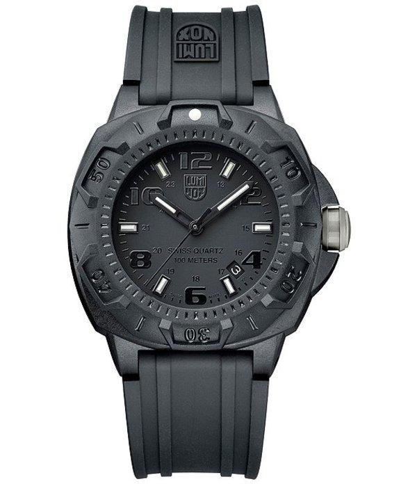 ルミノックス メンズ 腕時計 アクセサリー Sentry Blackout Watch Black