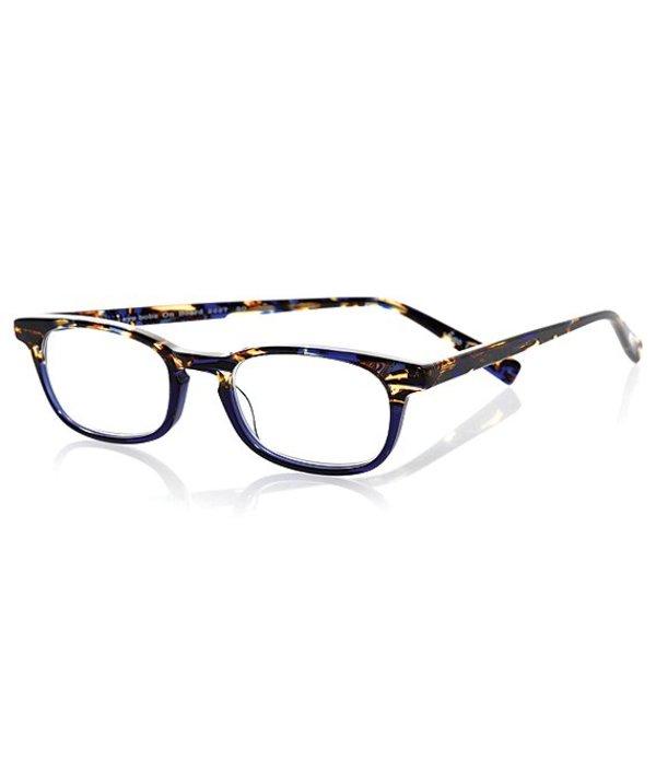 アイブブス レディース サングラス・アイウェア アクセサリー On Board Rectangle Reader Glasses Blue Tortoise