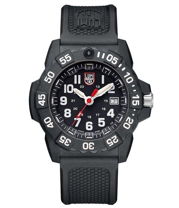 ルミノックス メンズ 腕時計 アクセサリー Trident Analog & Date Watch Black