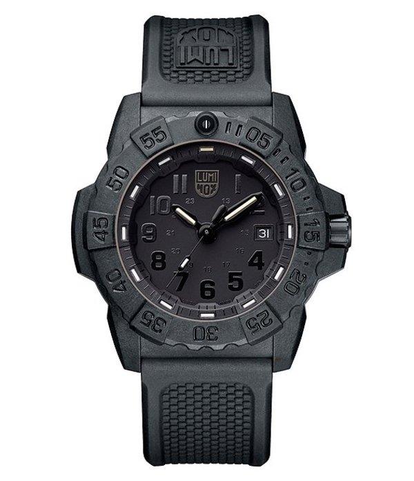 ルミノックス メンズ 腕時計 アクセサリー Trident Analog Watch Black