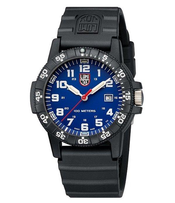ルミノックス メンズ 腕時計 アクセサリー Sea Turtle Signature Strap Watch Black