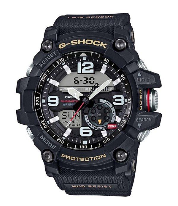 ジーショック メンズ 腕時計 アクセサリー Black Ana-Digi Watch Black