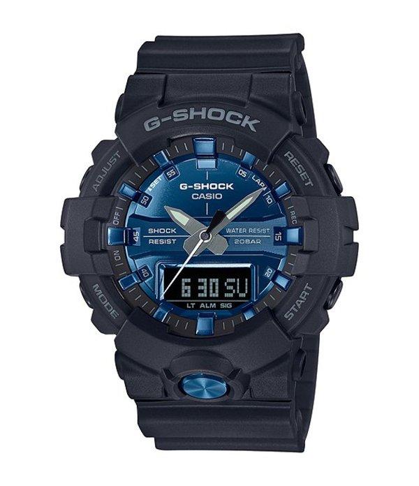 ジーショック メンズ 腕時計 アクセサリー Black Blue Ana-Digi Watch Black