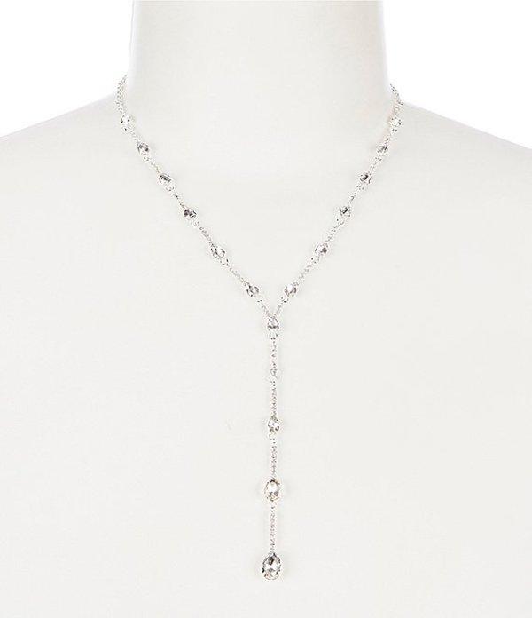 セザンヌ レディース ネックレス・チョーカー アクセサリー Skinny Links Y-Necklace Silver
