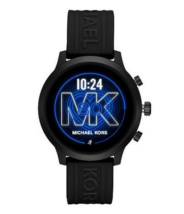 マイケルコース レディース 腕時計 アクセサリー Access MKGO Black Touchscreen Smartwatch Black