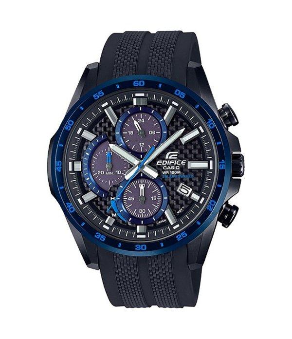ジーショック メンズ 腕時計 アクセサリー Edifice Solar Powered Multifunction Watch Black