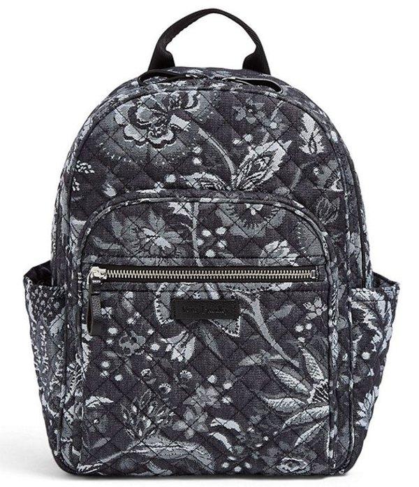ベラブラッドリー レディース バックパック・リュックサック バッグ Iconic Quilted Small Backpack Foxwood Navy