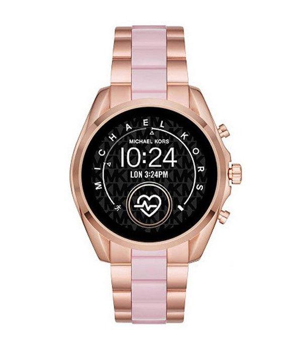 マイケルコース レディース 腕時計 アクセサリー Access Bradshaw Two Tone Touchscreen Smartwatch Rose Gold