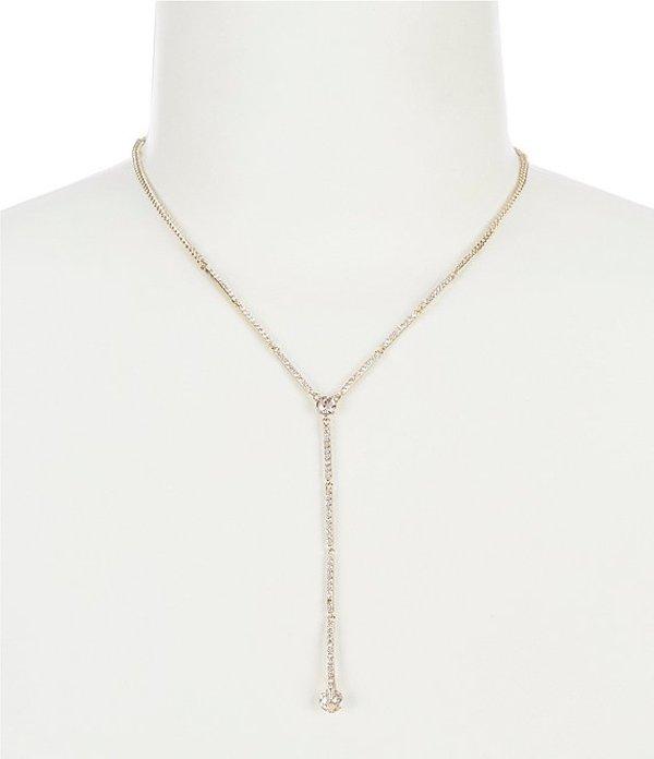 ジバンシー レディース ネックレス・チョーカー アクセサリー Gold Silk Long Y Necklace Gold