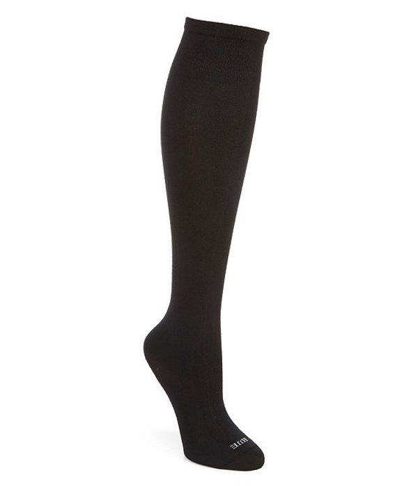 ヒュー レディース 靴下 アンダーウェア Massaging Sole Knee Socks 3 Pack Black