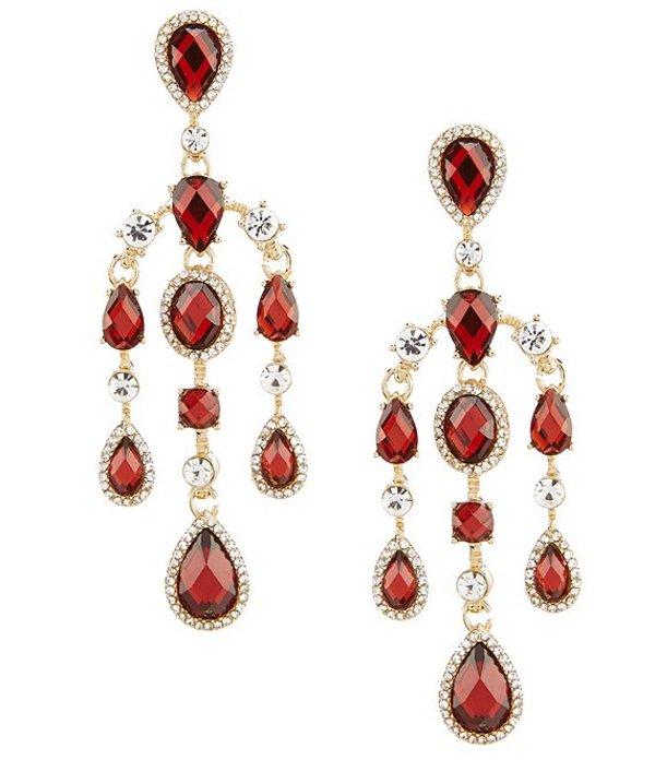 アンクライン レディース ピアス・イヤリング アクセサリー Red Chandelier Earrings Red