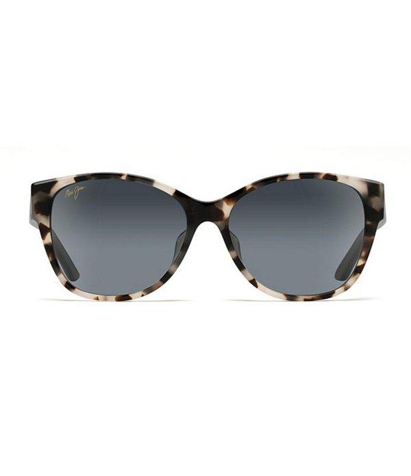 マウイジム レディース サングラス・アイウェア アクセサリー Summer Time Polarized Gradient Cat Eye Sunglasses White Tokyo Tortoise