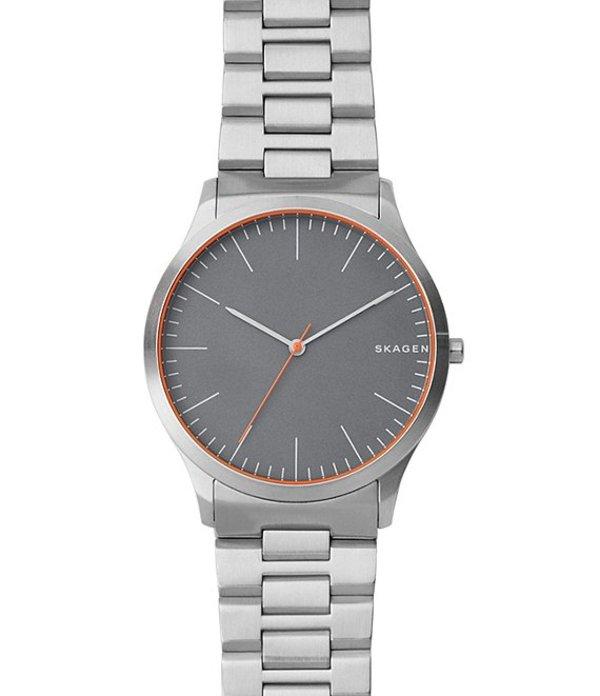 スカーゲン メンズ 腕時計 アクセサリー Jorn Analog Bracelet Watch Silver