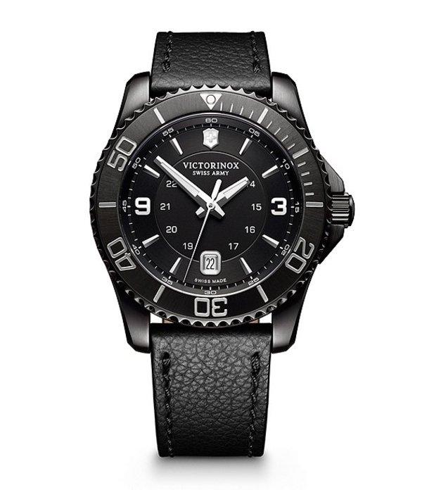 ビクトリノックス メンズ 腕時計 アクセサリー Maverick Black Out Watch Black