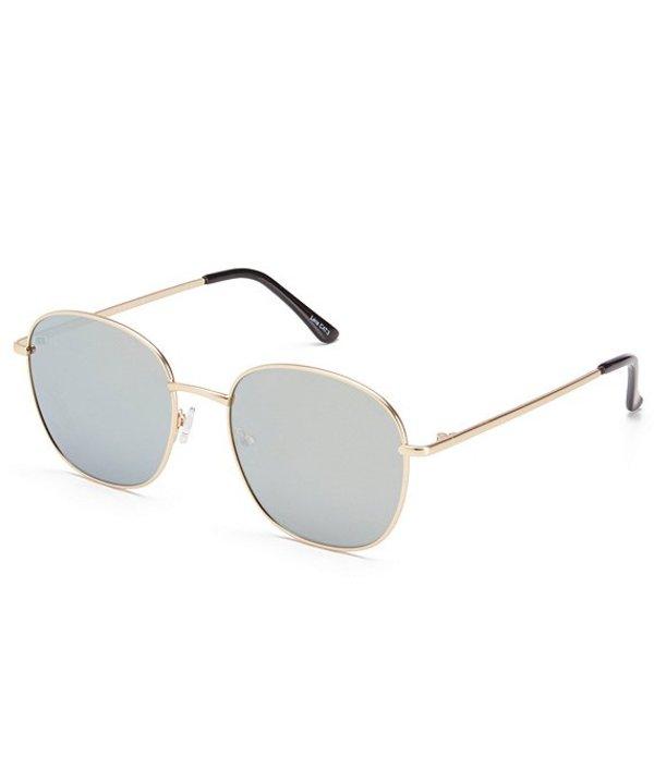 クアイオーストラリア レディース サングラス・アイウェア アクセサリー Jezabell Round Sunglasses Gold
