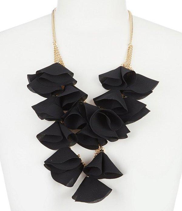 ナターシャ アクセサリー レディース ネックレス・チョーカー アクセサリー Oscar Tulip Statement Necklace Black