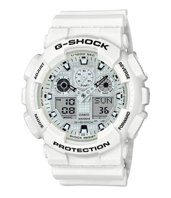 ジーショック メンズ 腕時計 アクセサリー White Ana-Digi Watch White