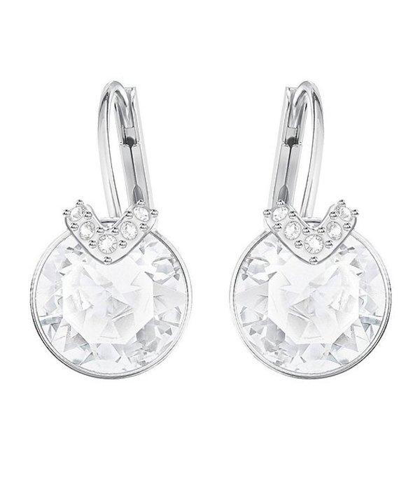 スワロフスキー レディース ピアス・イヤリング アクセサリー Bella V Earrings Crystal