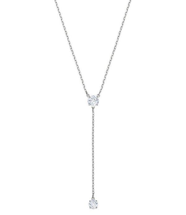 スワロフスキー レディース ネックレス・チョーカー アクセサリー Attract Y Necklace Crystal