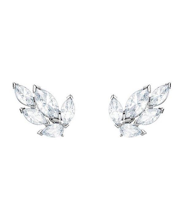 スワロフスキー レディース ピアス・イヤリング アクセサリー Louison Stud Pierced Earrings Crystal