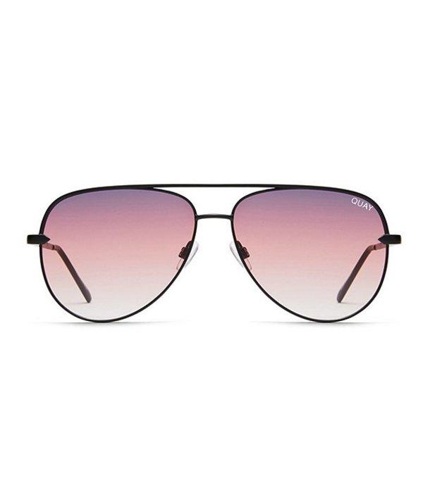 クアイオーストラリア レディース サングラス・アイウェア アクセサリー Sahara Mini Sunglasses Black Purple Fade