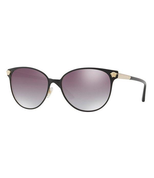 ヴェルサーチ レディース サングラス・アイウェア アクセサリー Ve2168 Rock Icon Sunglasses Gold Black