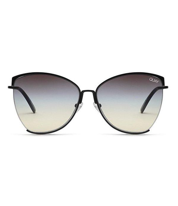 クアイオーストラリア レディース サングラス・アイウェア アクセサリー Dusk To Dawn Oversized Sunglasses Black Smoke