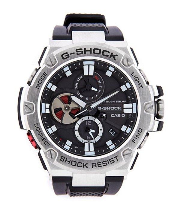 ジーショック メンズ 腕時計 アクセサリー G Steel Ana Digi Watch Black/Silver