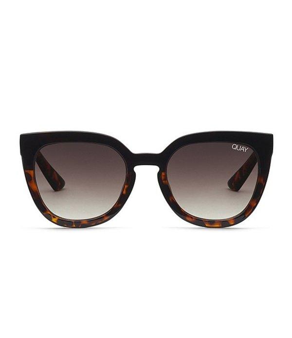 クアイオーストラリア レディース サングラス・アイウェア アクセサリー Quay Noosa Cat Eye Sunglasses Black