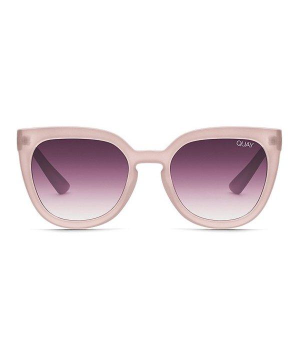 クアイオーストラリア レディース サングラス・アイウェア アクセサリー Quay Noosa Cat Eye Sunglasses Taupe Purple