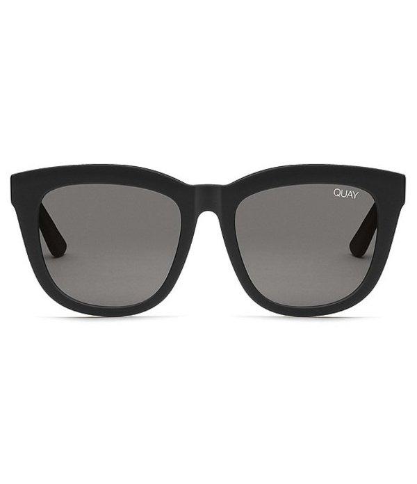 クアイオーストラリア レディース サングラス・アイウェア アクセサリー Zeus Sunglasses Black Smoke