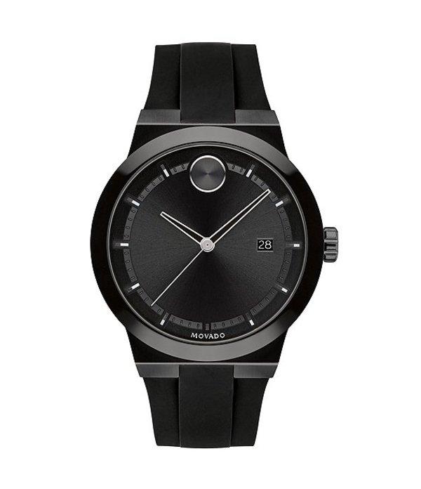 モバード メンズ 腕時計 アクセサリー Men's Black Swiss Quartz Fusion Watch Black
