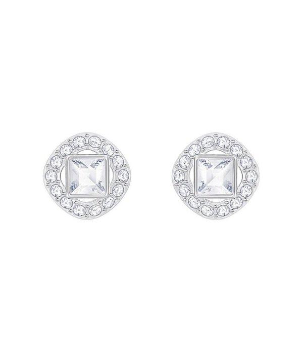スワロフスキー レディース ピアス・イヤリング アクセサリー Angelic Stud Earrings Silver/Crystal