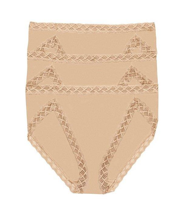 ナトリ レディース パンツ アンダーウェア Bliss French-Cut Brief Panty 3-Pack Cafe