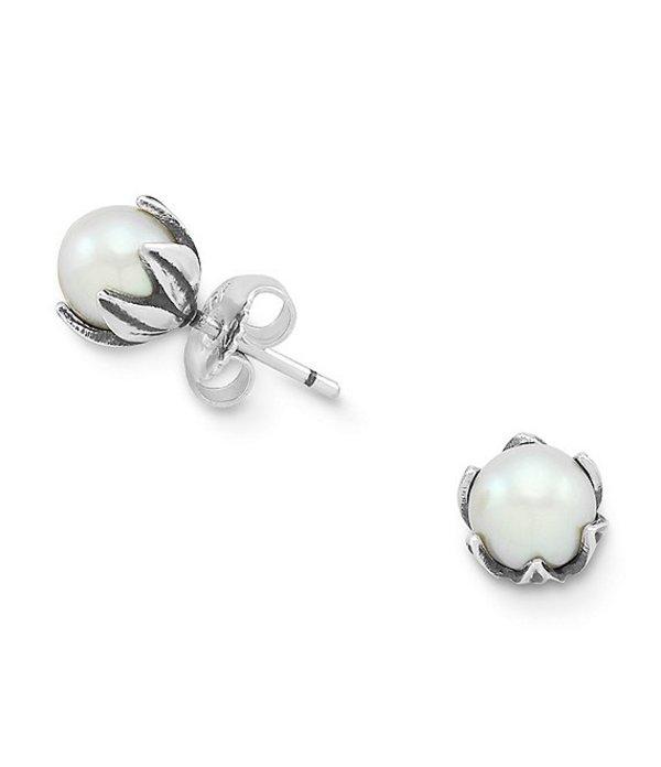 ジェームズ エイヴリー レディース ピアス・イヤリング アクセサリー Freshwater Cultured Pearl Pod Ear Posts Sterling Pearl