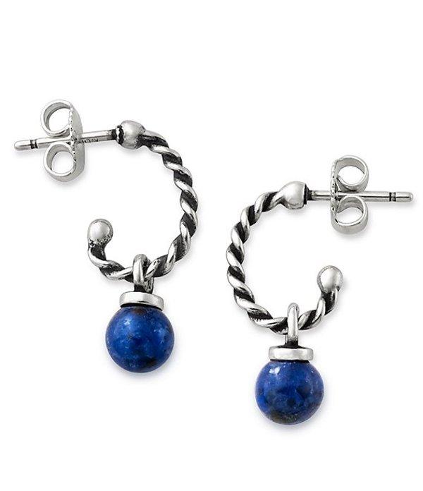 ジェームズ エイヴリー レディース ピアス・イヤリング アクセサリー Twisted Wire Ear Posts with Sodalite Bead Sterling Blue